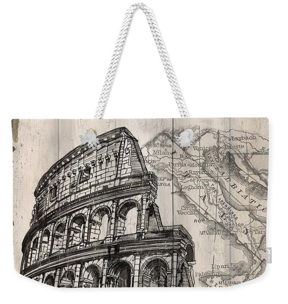 Vintage Travel Poster Weekender Tote Bag