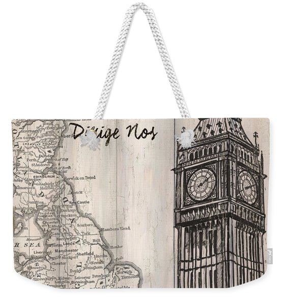Vintage Travel Poster London Weekender Tote Bag