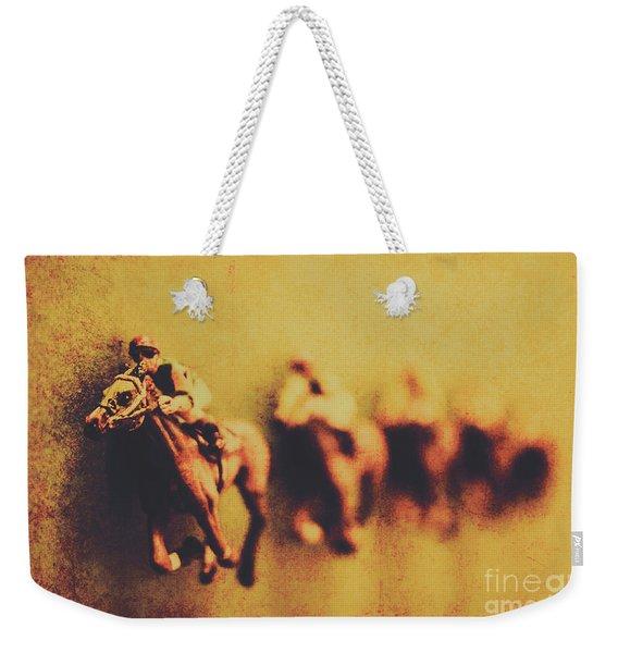 Vintage Trots Weekender Tote Bag