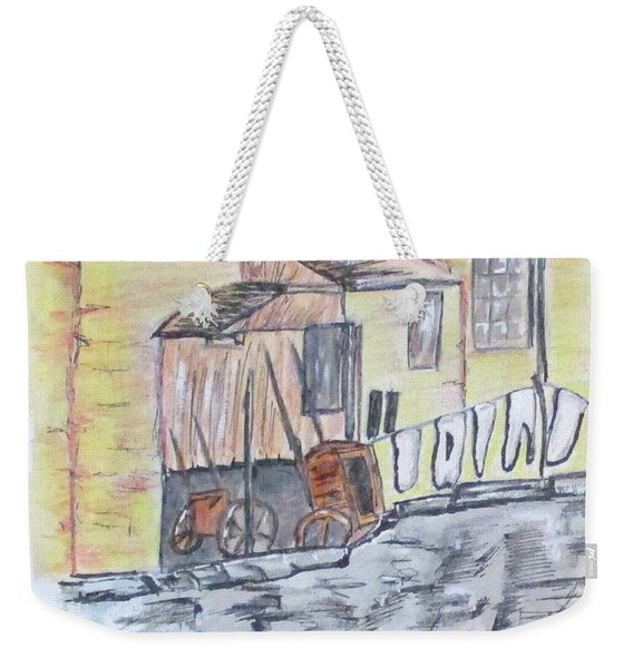 Vintage Wash Day Weekender Tote Bag