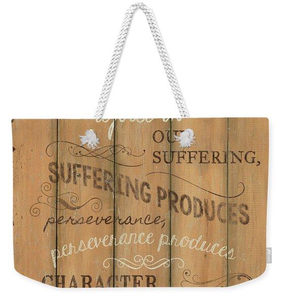 Vintage Wtlb Hope Weekender Tote Bag