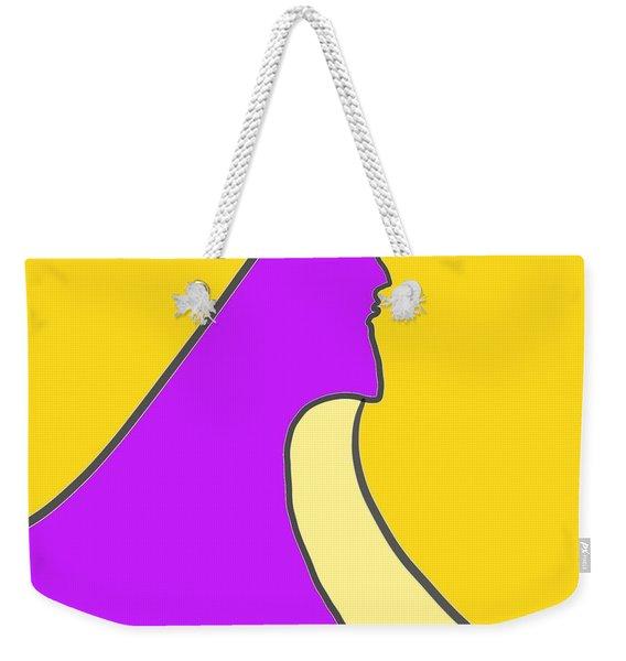 Violet Blonde Weekender Tote Bag