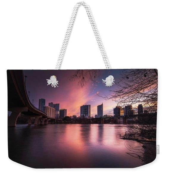 Violet Crown Weekender Tote Bag