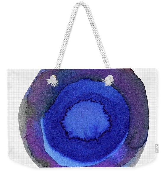 Violet Drops 1- Art By Linda Woods Weekender Tote Bag