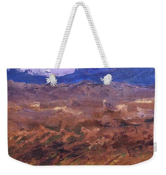 Violet Night  Weekender Tote Bag