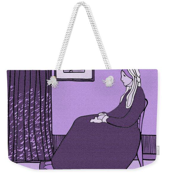 Violet Whistler's Mother Weekender Tote Bag