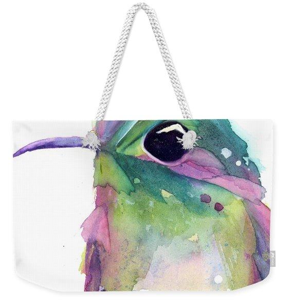 Violet's Rest Weekender Tote Bag