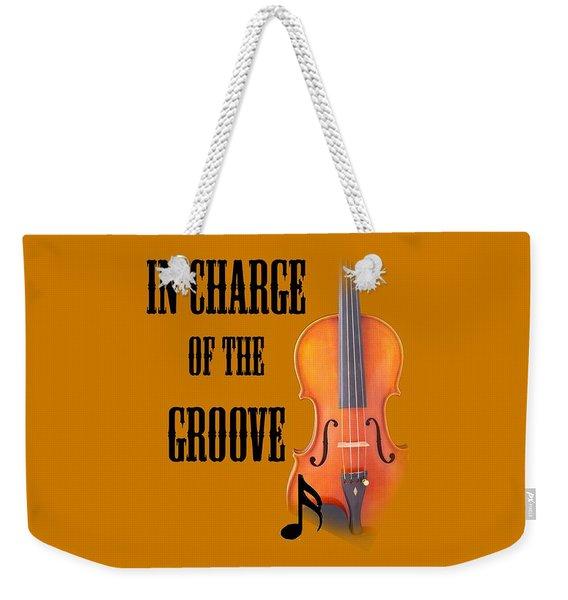 Violin Violas In Charge Of The Groove 5540.02 Weekender Tote Bag
