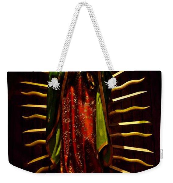 Virgin Of Guadalupe Weekender Tote Bag