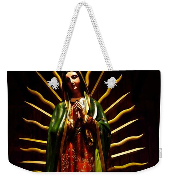 Virgin Of Guadalupe Weekender Tote Bag