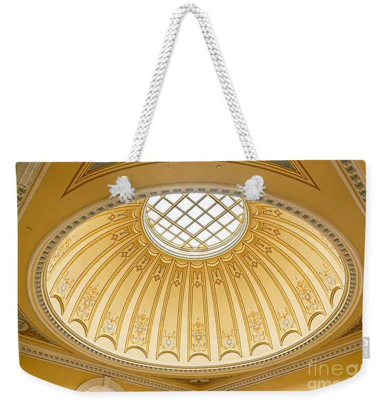 Virginia Capitol - Dome Profile Weekender Tote Bag