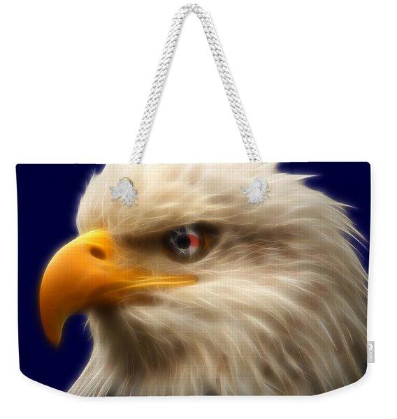 Vision Of Freedom Weekender Tote Bag