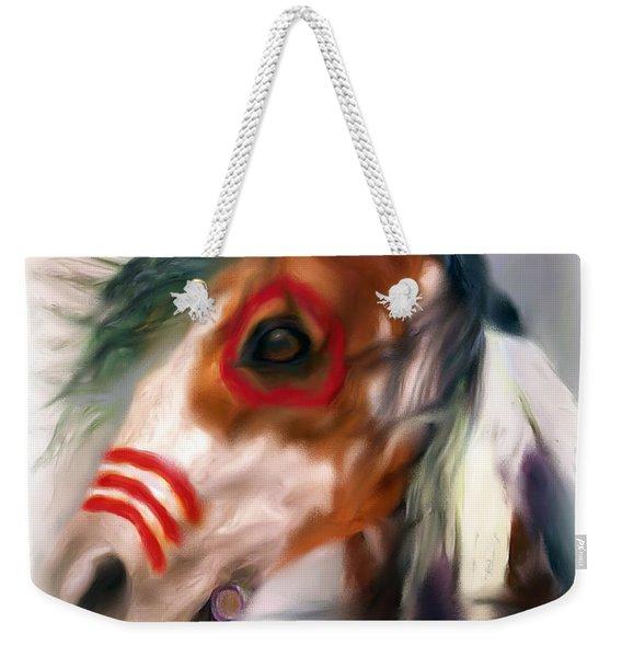 Visionary War Horse Weekender Tote Bag