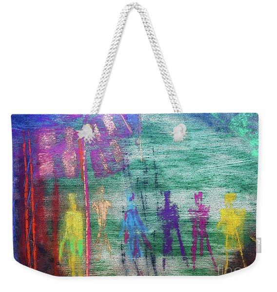 Visions Of Future Beings Weekender Tote Bag