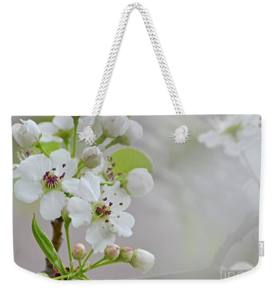 Visions Of White Weekender Tote Bag