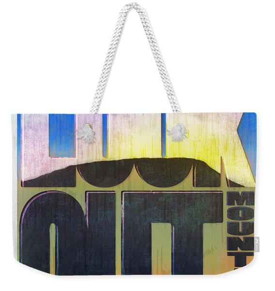 Visit Lookout Mountain Weekender Tote Bag