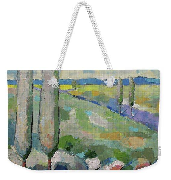 Visiting Town 1602 Weekender Tote Bag