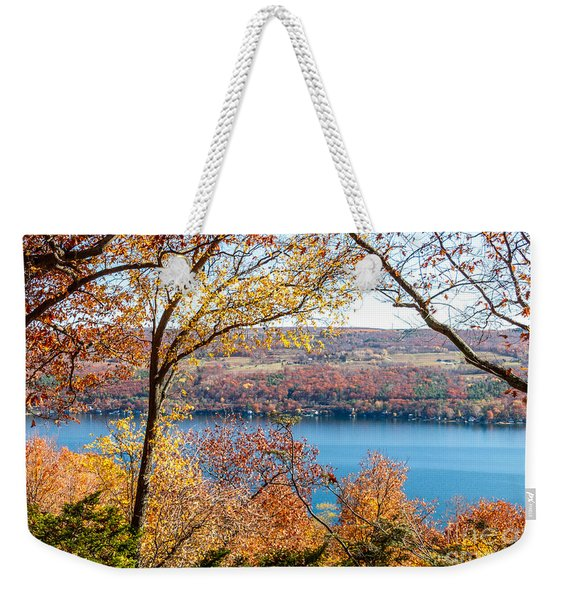 Vista From Garrett Chapel Weekender Tote Bag