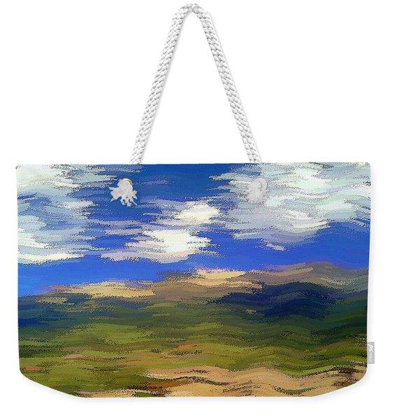 Vista Hills Weekender Tote Bag