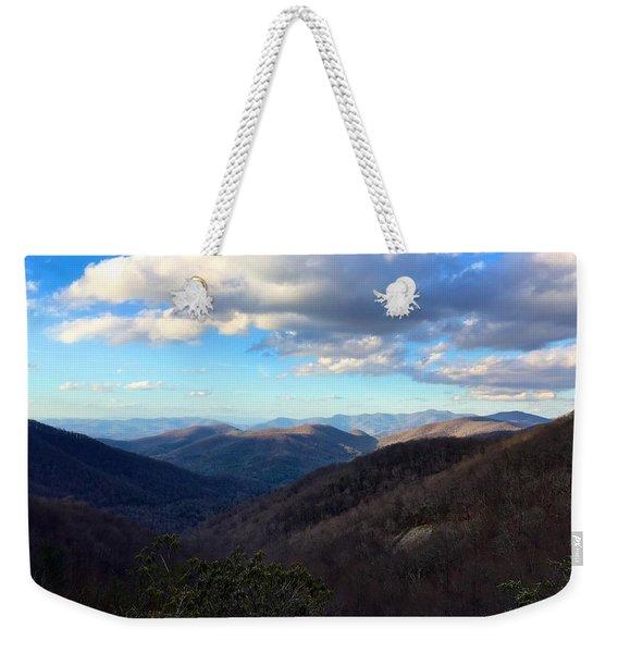 Vista Weekender Tote Bag