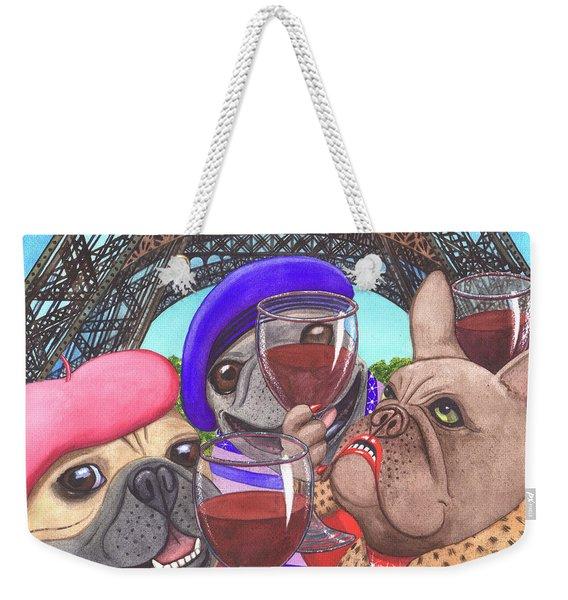 Viva La France Weekender Tote Bag