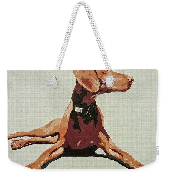 Vizsla 3 Weekender Tote Bag