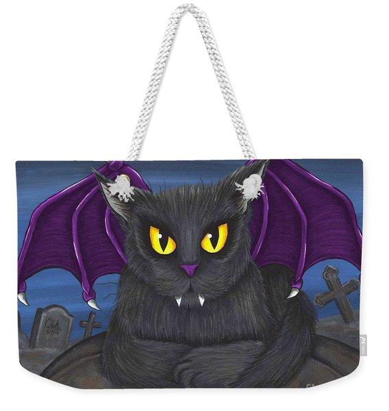 Vlad Vampire Cat Weekender Tote Bag