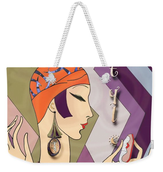Vogue 5 Weekender Tote Bag