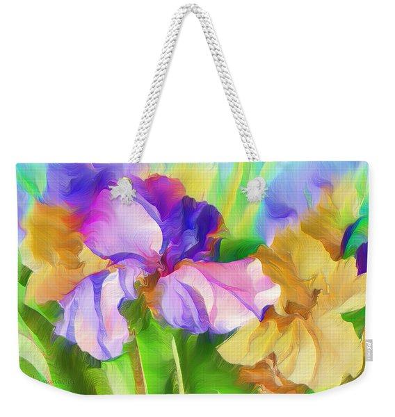 Voices Of Spring Weekender Tote Bag