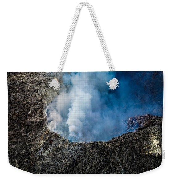 Another View Of The Kalauea Volcano Weekender Tote Bag