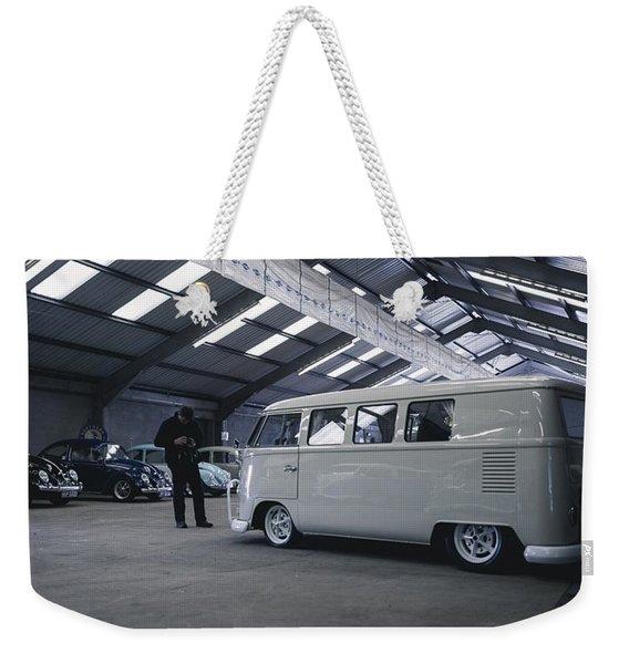 Volkswagen Microbus Weekender Tote Bag