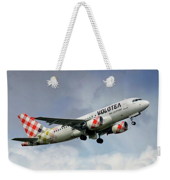 Volotea Airbus A319s Weekender Tote Bag
