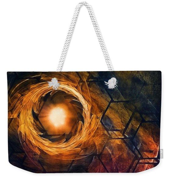 Vortex Of Fire Weekender Tote Bag