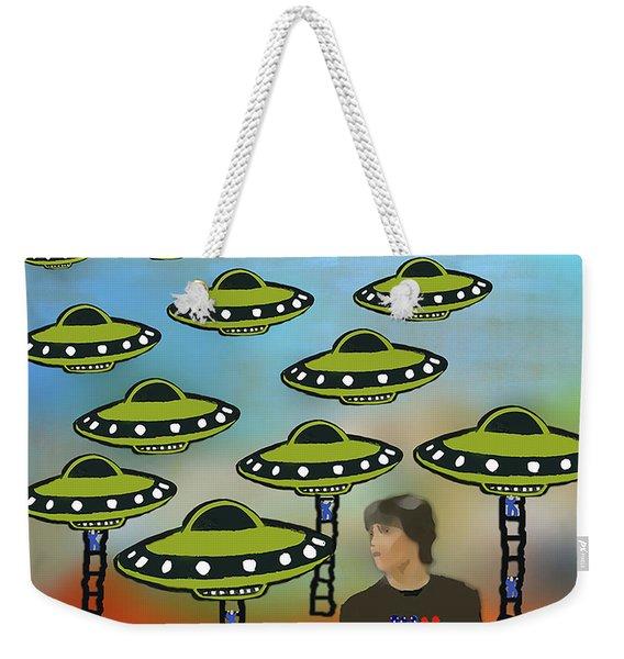 Vote Weekender Tote Bag