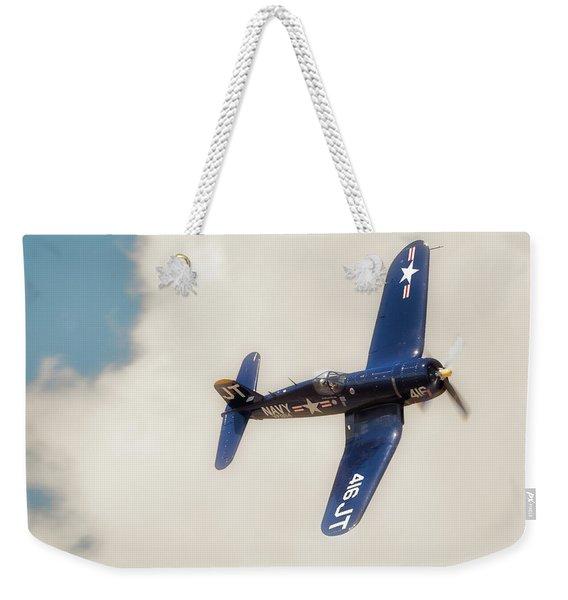 Vought F4u Corsair Weekender Tote Bag