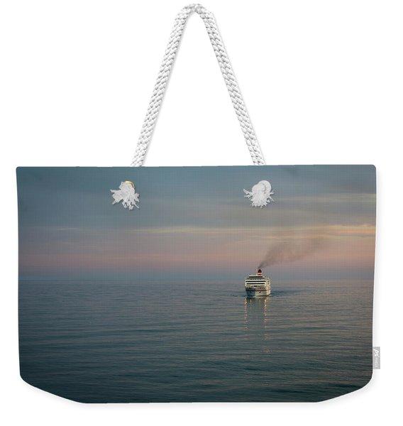 Voyage Home 4 Weekender Tote Bag