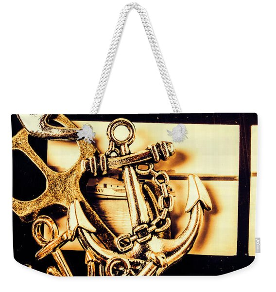 Voyage In Historical Boating Weekender Tote Bag