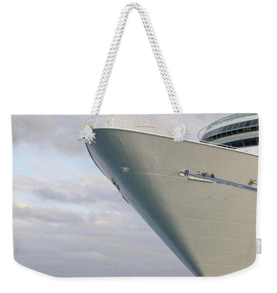 Voyage Weekender Tote Bag