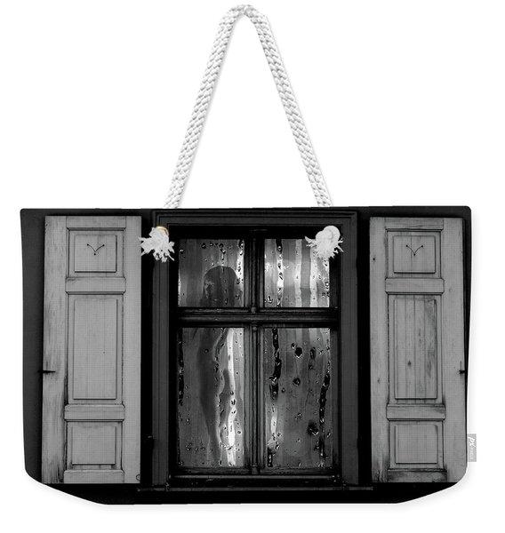 Voyeurism - Nude In Window Weekender Tote Bag