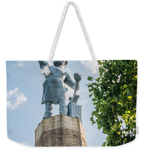 Vulcan On A Sunny Day Weekender Tote Bag