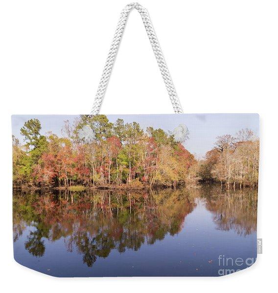 Waccamaw River In November Weekender Tote Bag