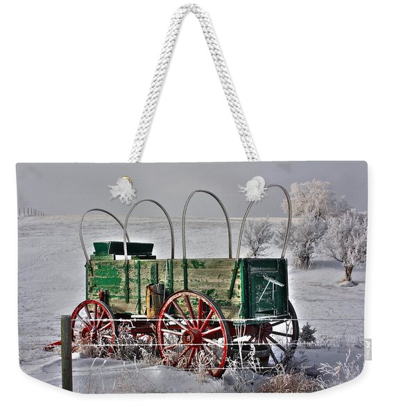 Wagon Weekender Tote Bag
