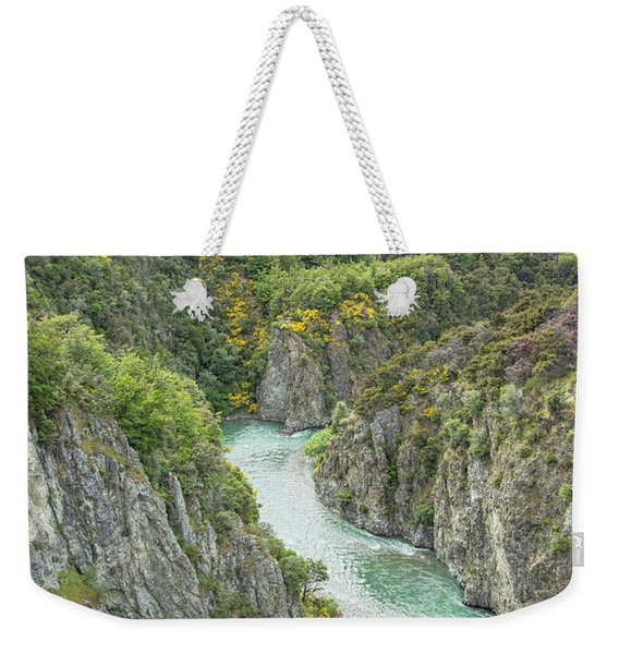 Waimakariri Gorge Weekender Tote Bag