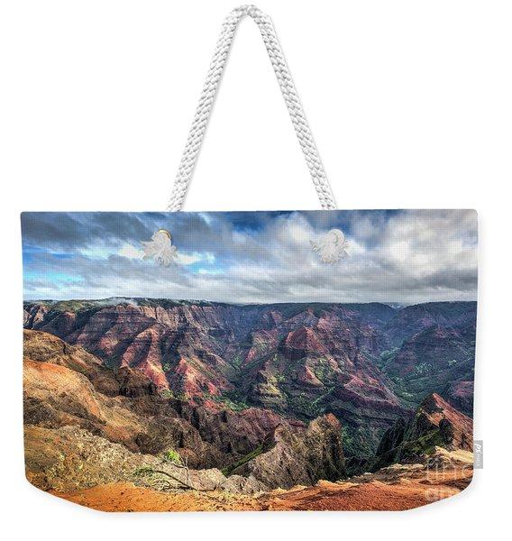 Waimea Canyon Kauai Hawaii Weekender Tote Bag