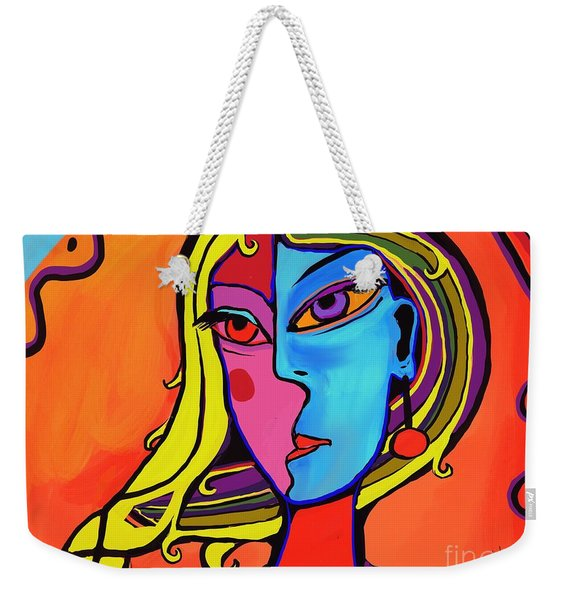 Waiting For A Climber Weekender Tote Bag