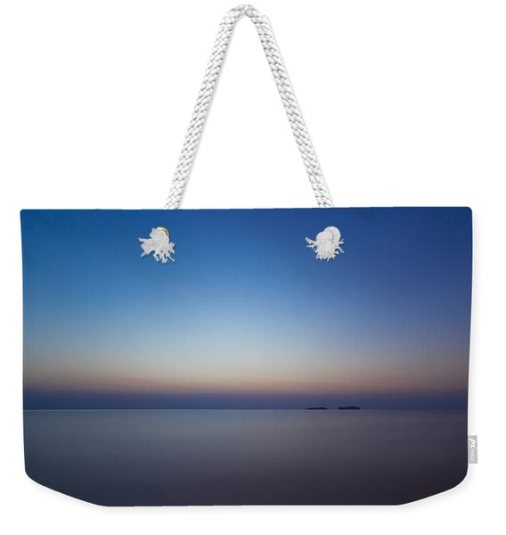 Waiting For A New Day Weekender Tote Bag