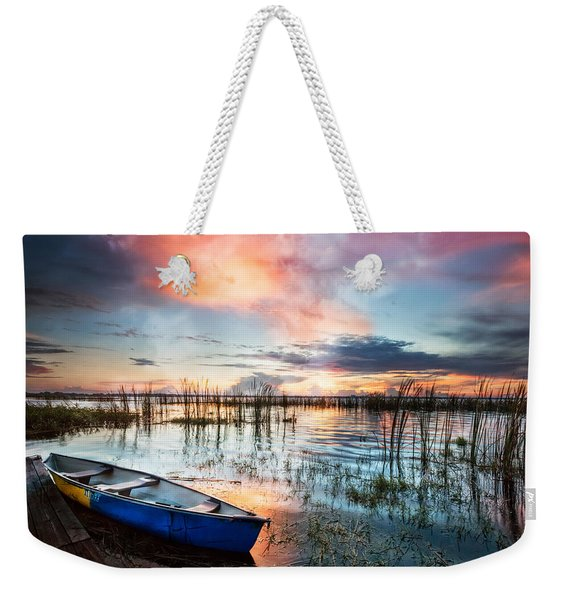 Waiting For Dawn Weekender Tote Bag
