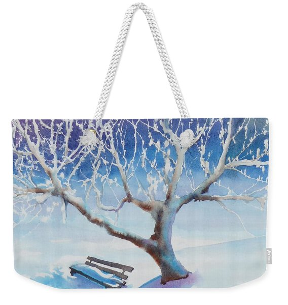 Waiting For Spring Weekender Tote Bag