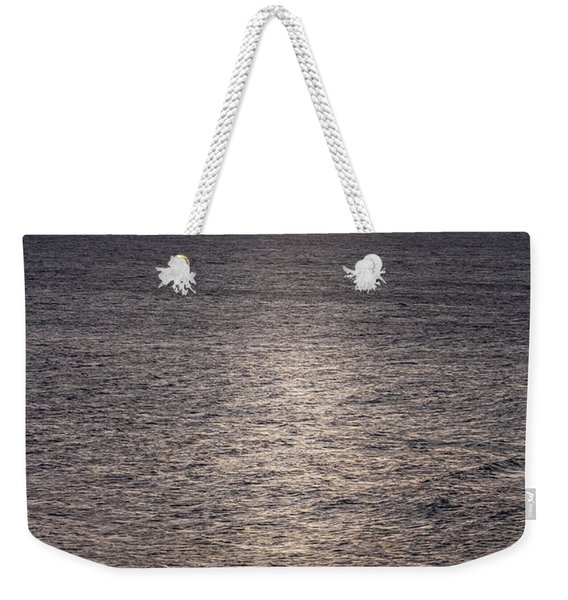 Waiting For The Last Wave Of The Day Weekender Tote Bag