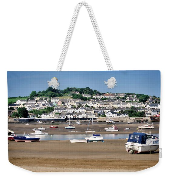 Waiting For The Tide Weekender Tote Bag